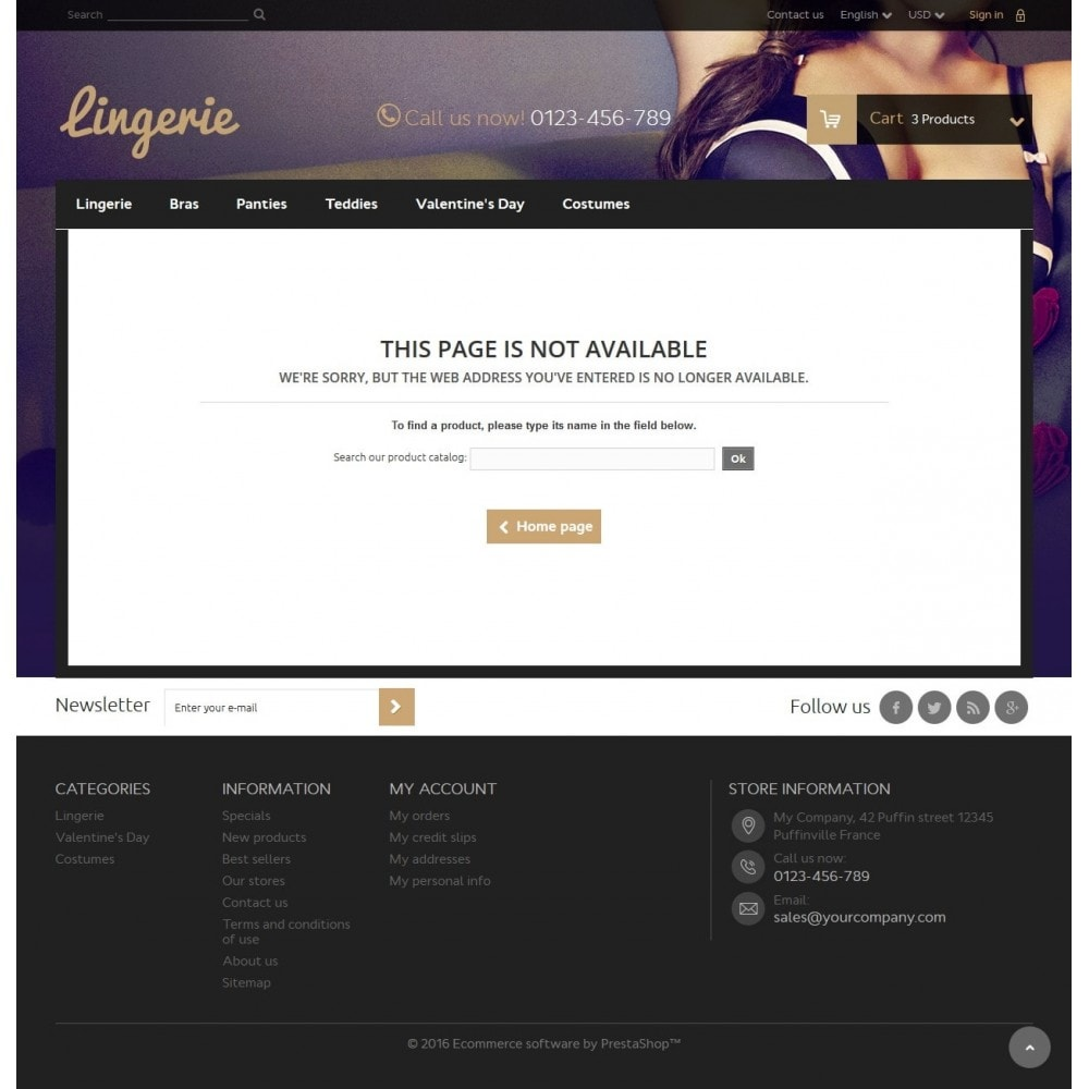 theme - Lingerie & Adulti - Lingerie Store 1.6 Responsive - 9
