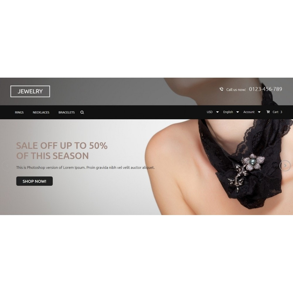 theme - Jewelry & Accessories - Jewelry Store 1.6 Responsive - 3