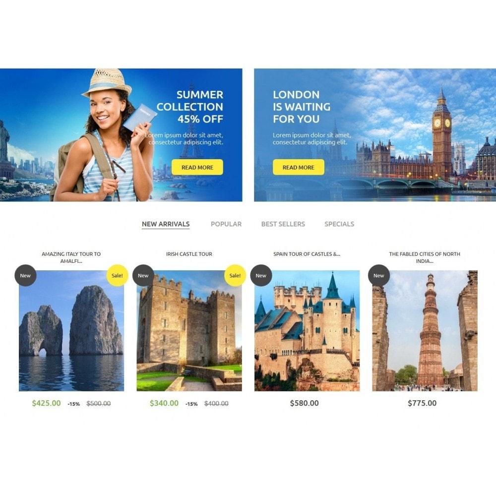 theme - Sport, Loisirs & Voyage - Tourism 1.6 Responsive - 4