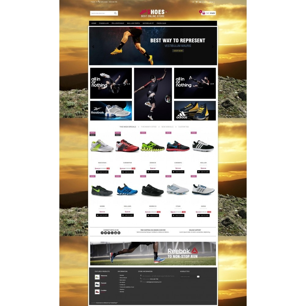 theme - Moda y Calzado - Shoes shop Multipurpose HTML5 - 3