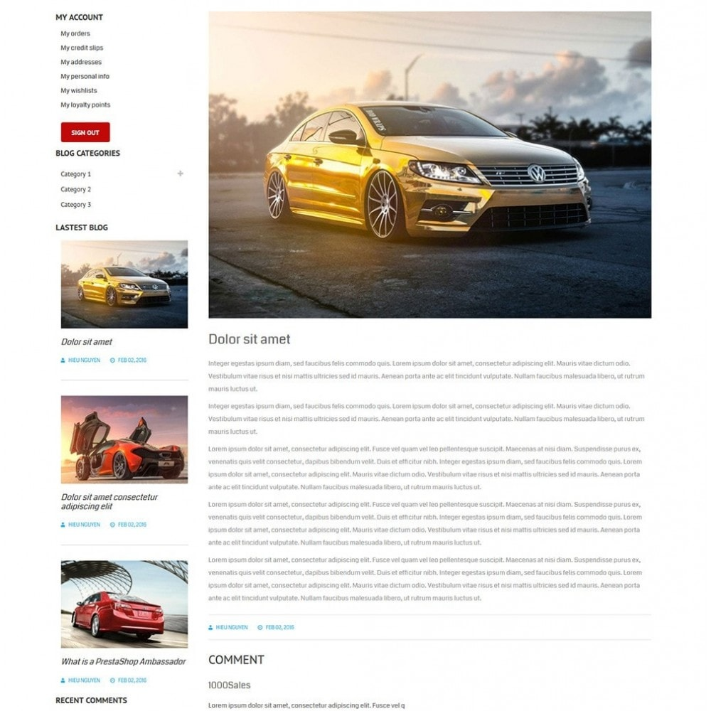theme - Auto's & Motoren - Water Car Store - 7