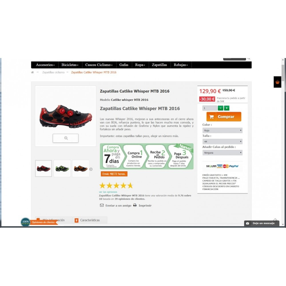 module - Opiniões de clientes - weeComments Customer Reviews, Product Reviews - 4