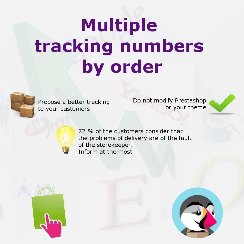 module - Rastreamento da entrega - Add shipping numbers - 1