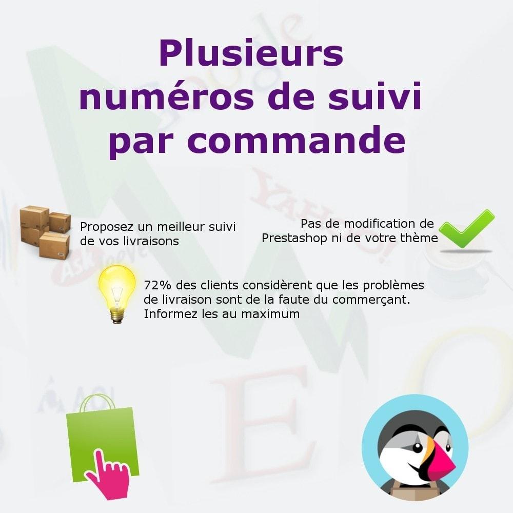 module - Suivi de livraison - Ajouter des numéros de suivi - 1