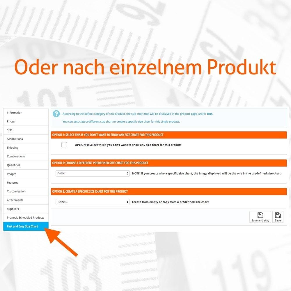 module - Größen & Einheiten - Fast and Easy Größentabelle - 3