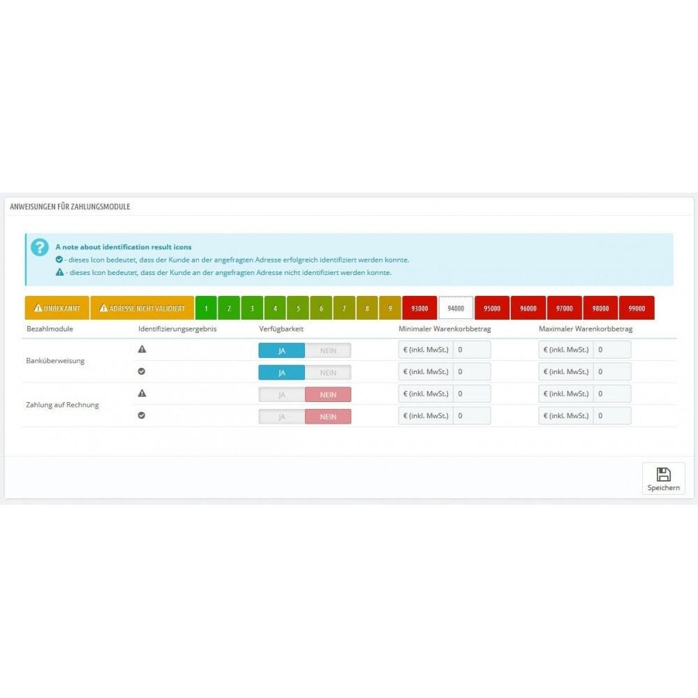 module - Paiement par Facture - Boniversum Credit assessments Connector - 5
