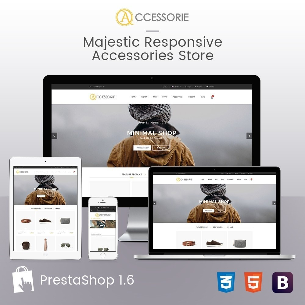 theme - Мода и обувь - Minimal Accessorie Fashion & Shoes Responsive Store - 2