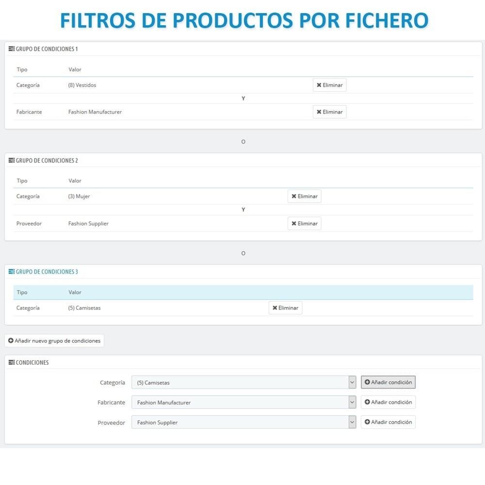 module - Importación y Exportación de datos - Actualizar datos CSV/XML vía URL/FTP cronjob compatible - 12