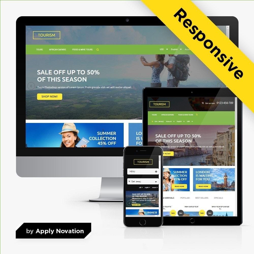 theme - Sport, Loisirs & Voyage - Tourism 1.6 Responsive - 1