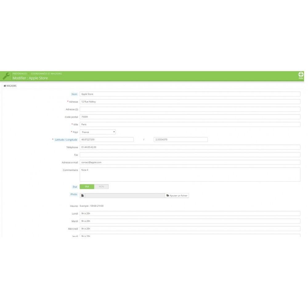 module - Import & Export de données - Import des magasins - 5
