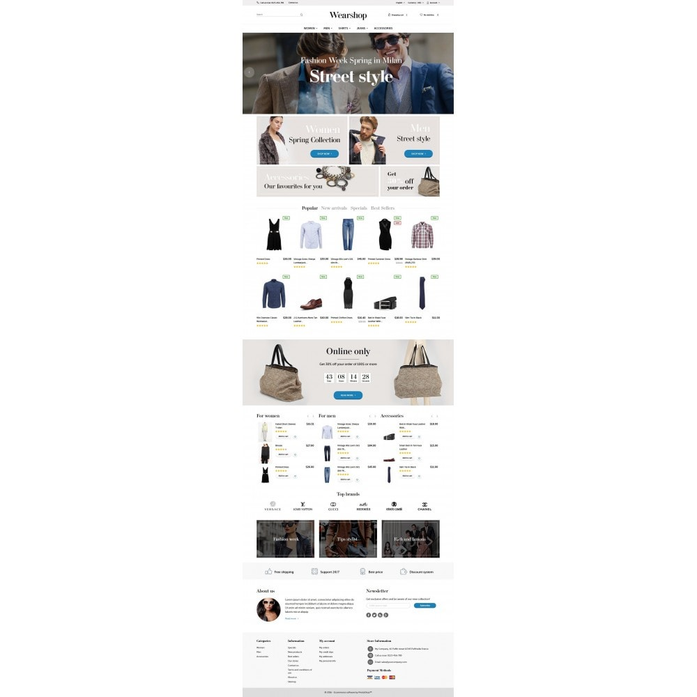 theme - Mode & Schoenen - Wearshop - 4