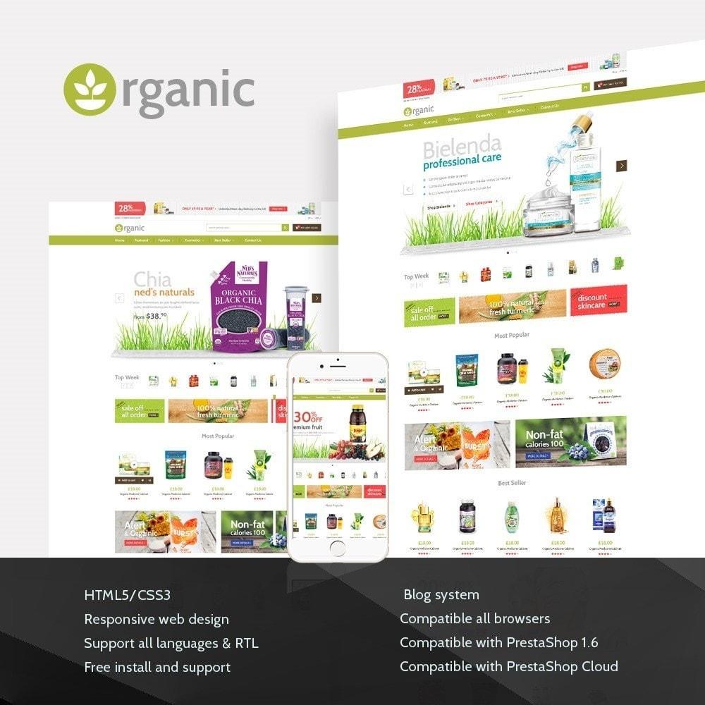 theme - Zdrowie & Uroda - Water Bio Organic - 1