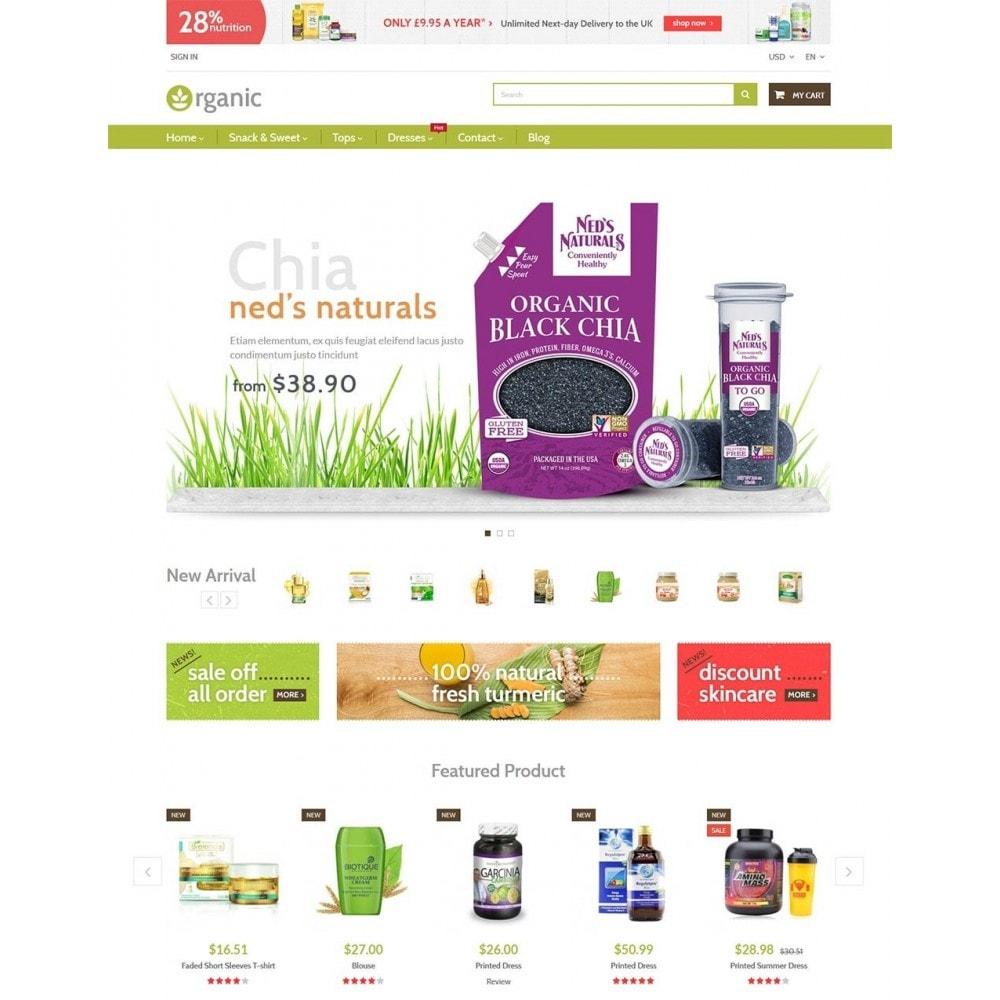 theme - Здоровье и красота - Water Bio Organic - 2