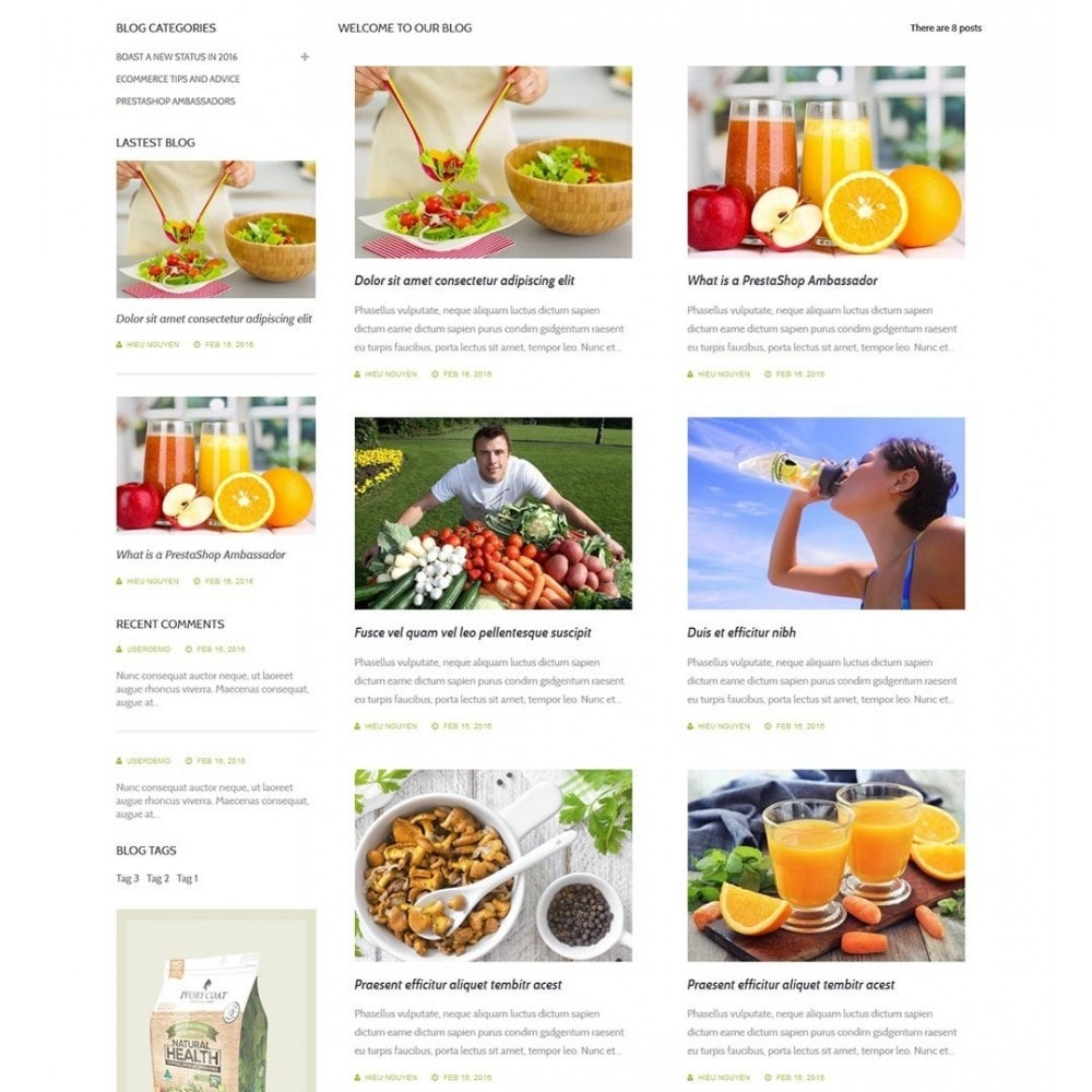 theme - Здоровье и красота - Water Bio Organic - 7