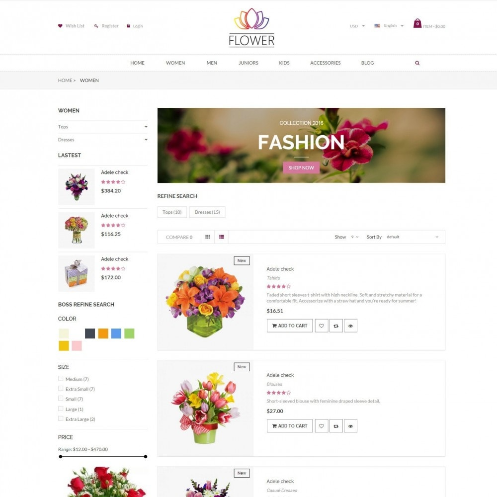 theme - Gifts, Flowers & Celebrations - Celebrations Gift & Flower Responsvie Store - 4