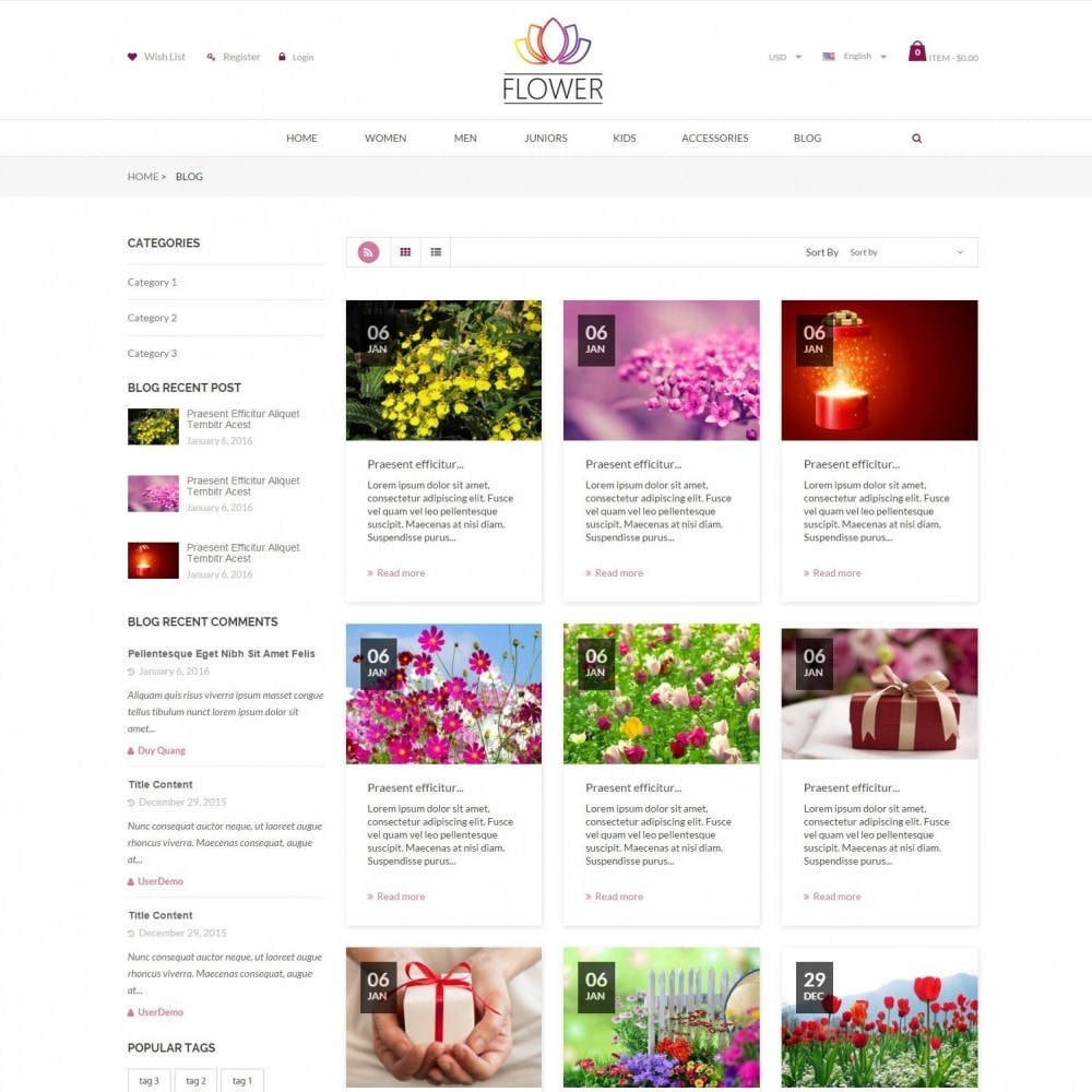 theme - Cadeaus, Bloemen & Gelegenheden - Celebrations Gift & Flower Responsvie Store - 6