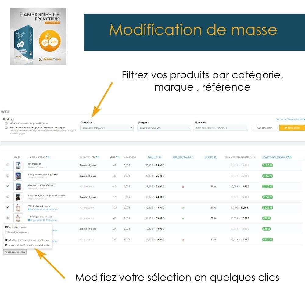 module - Promotions & Cadeaux - DMU Campagnes de Promotions - 7