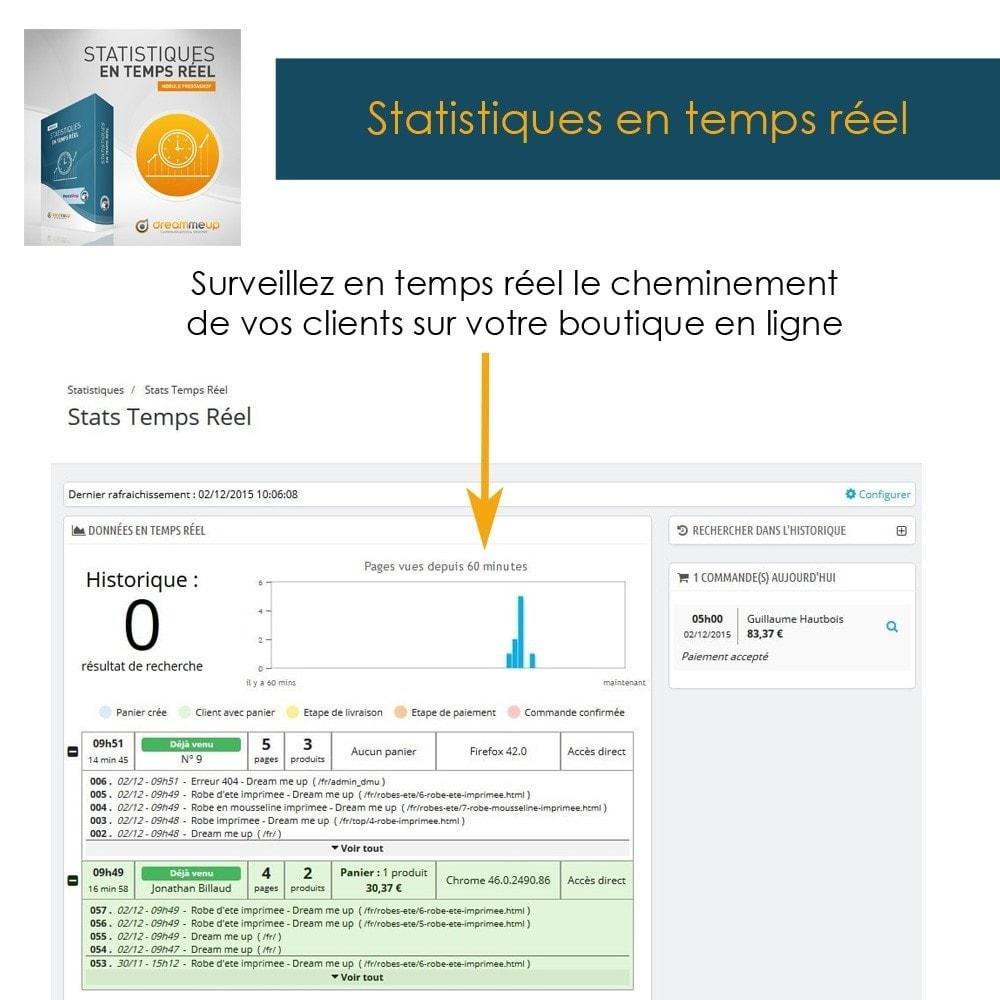 module - Analyses & Statistiques - DMU Statistiques en Temps Réel - 2