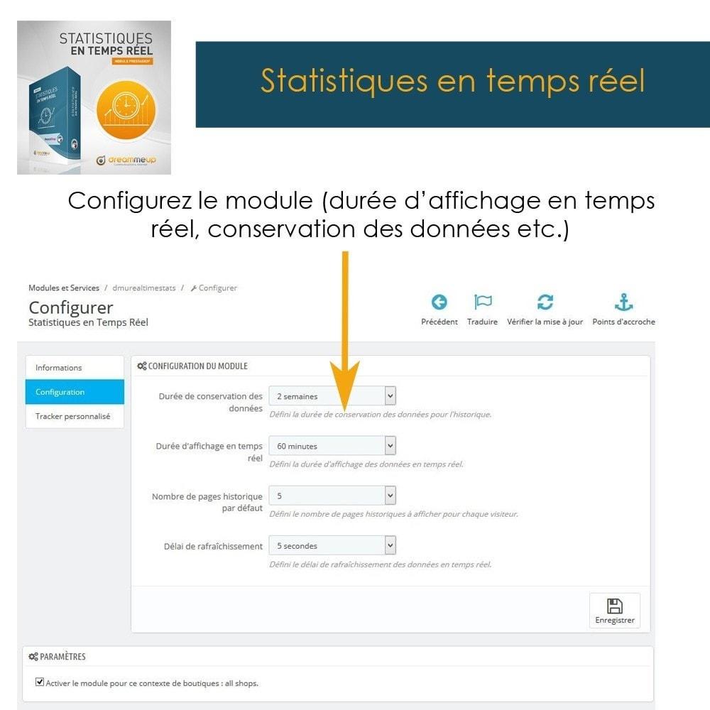 module - Analyses & Statistiques - DMU Statistiques en Temps Réel - 4