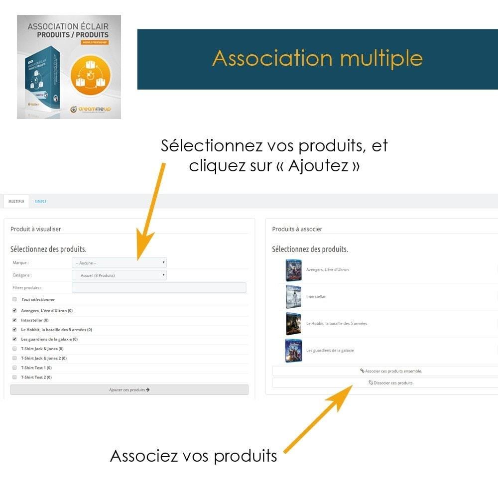 module - Edition rapide & Edition de masse - DMU Association éclair Produits / Produits - 2