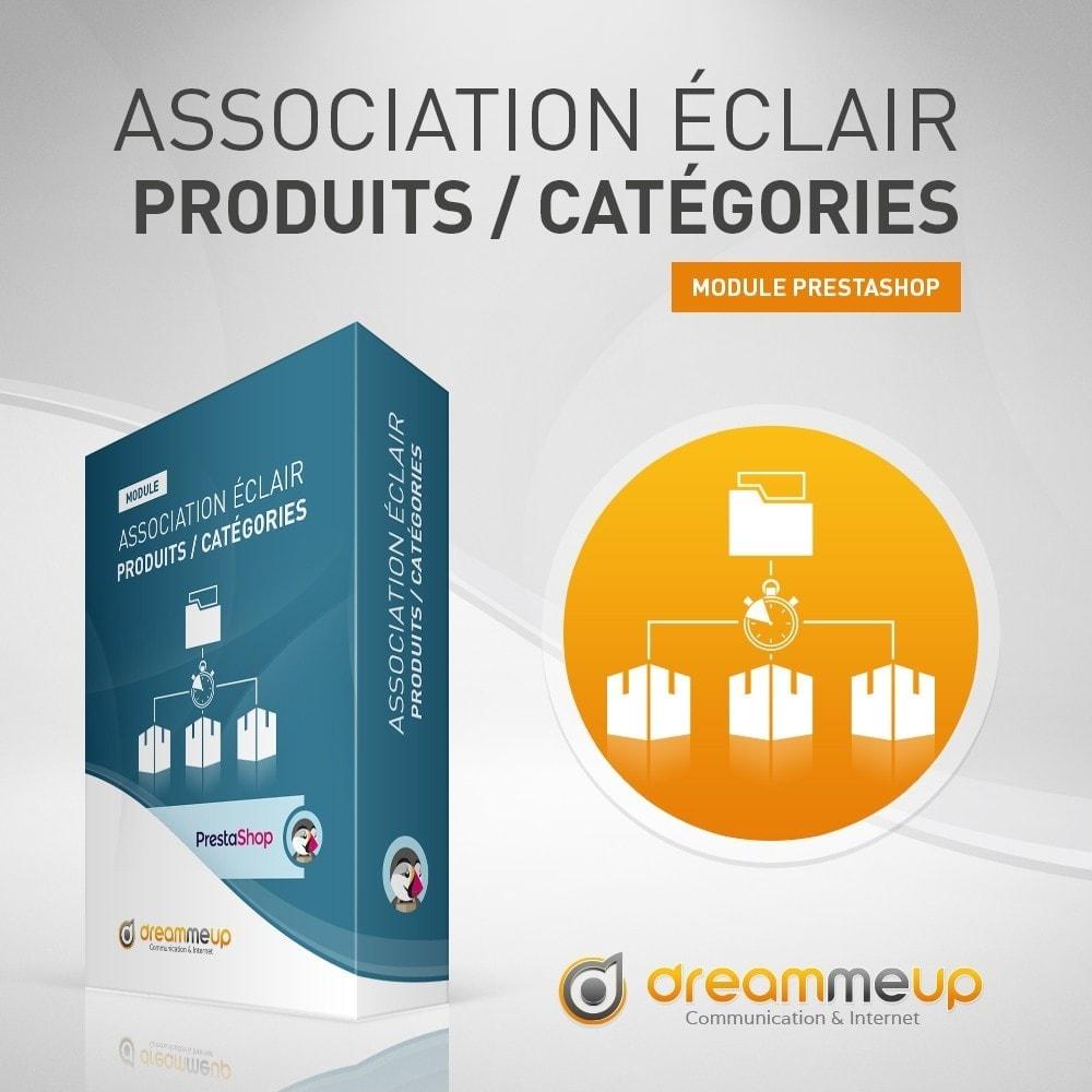 module - Edition rapide & Edition de masse - DMU Association éclair Produits / Catégories - 1