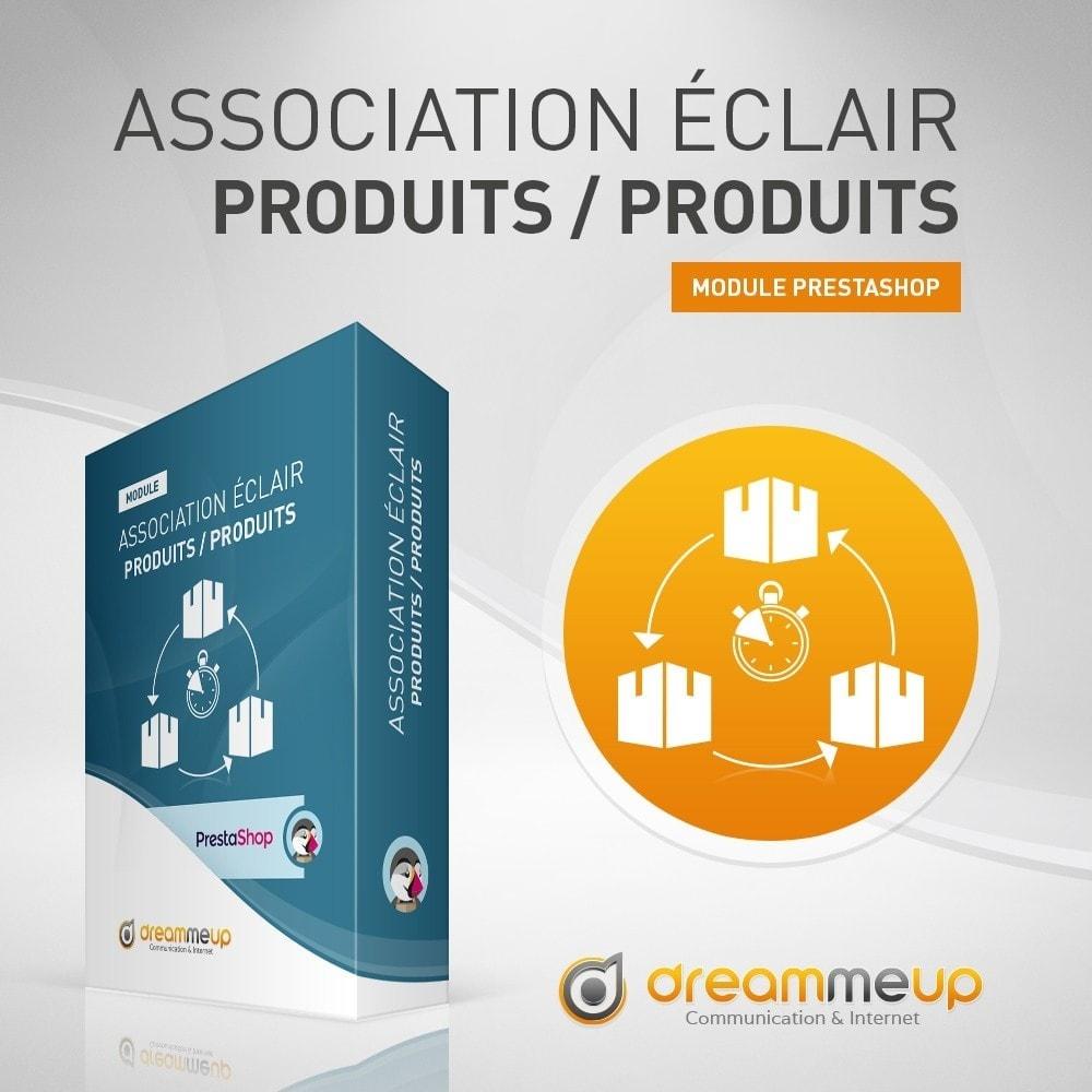 module - Edition rapide & Edition de masse - DMU Association éclair Produits / Produits - 1
