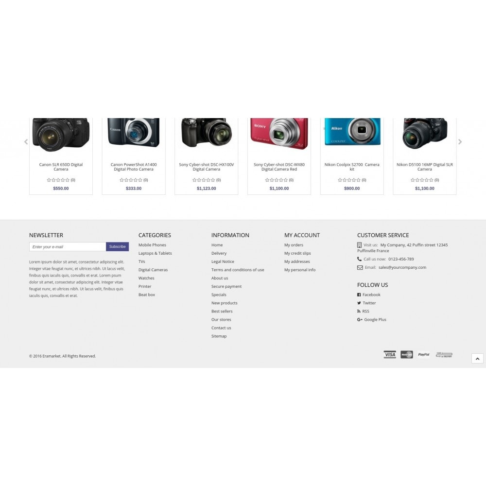 theme - Electronics & Computers - Eramarket Responsive - 7