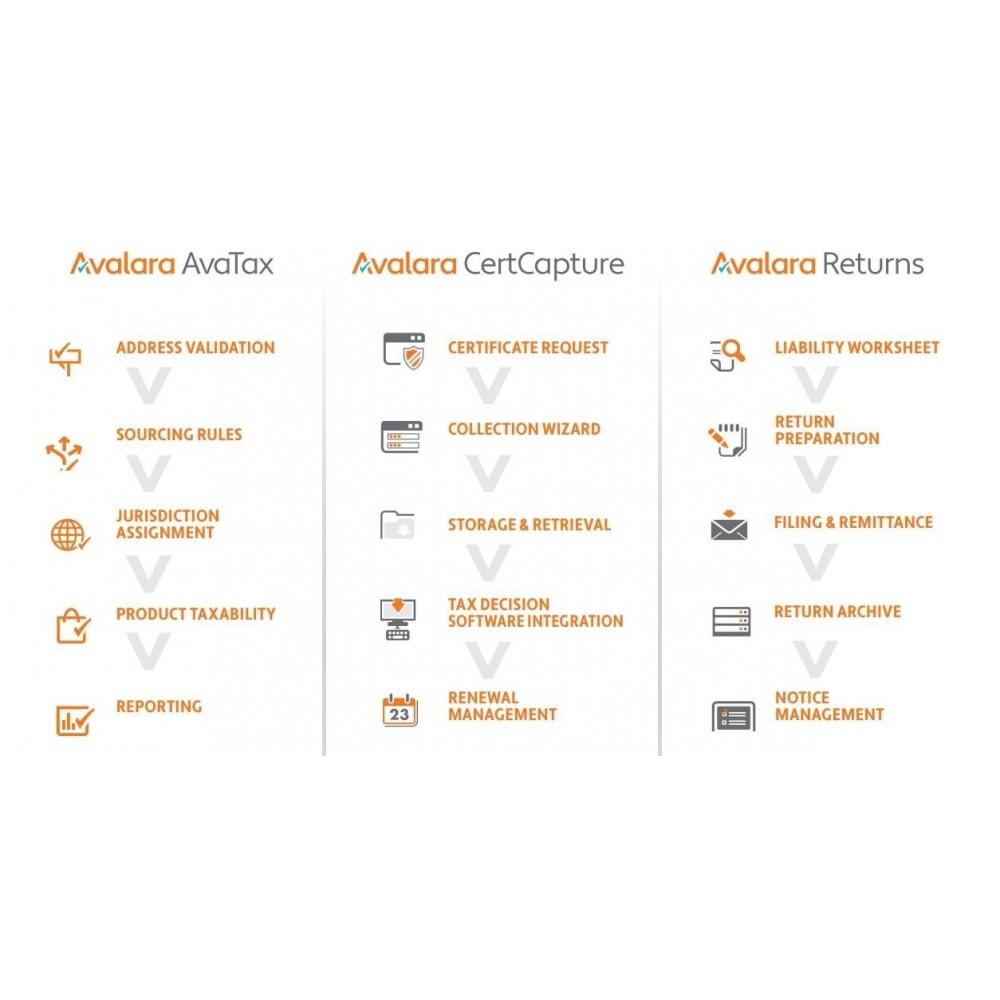 module - Accounting & Invoicing - Avalara - AvaTax - 3
