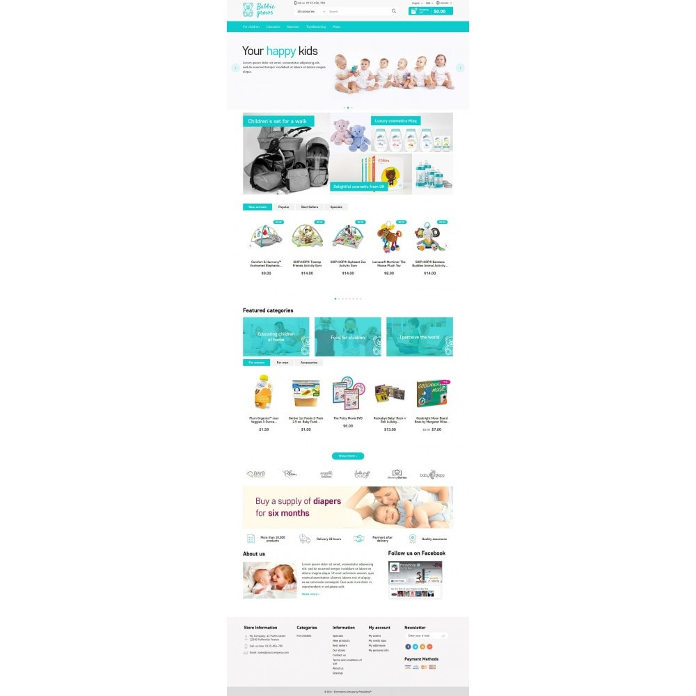 theme - Enfants & Jouets - Baby Grows 1.6 Responsive - 4
