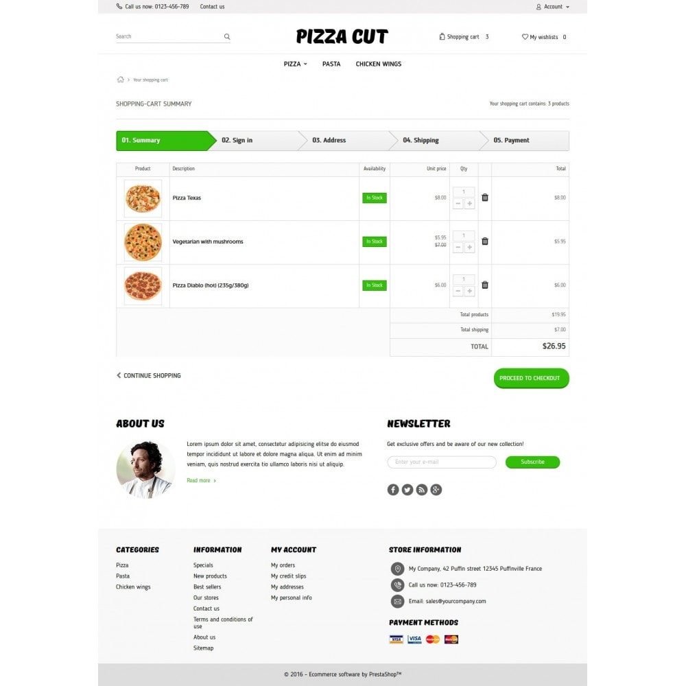 theme - Alimentation & Restauration - Pizza Cut - 8