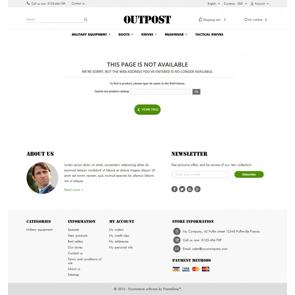 theme - Fashion & Shoes - OutPost 1.6 Responsive - 9