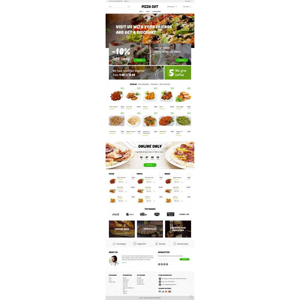 theme - Lebensmittel & Restaurants - Pizza Cut - 4