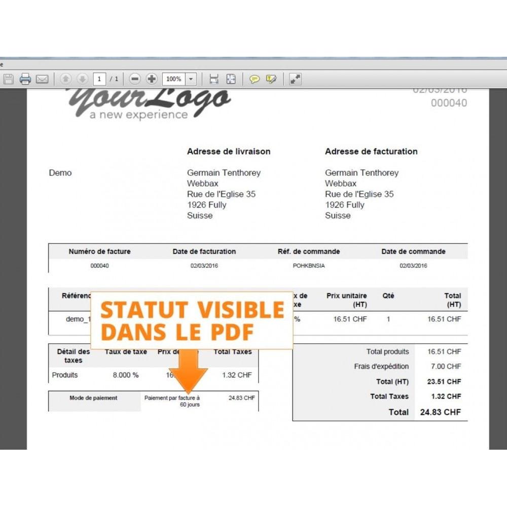 module - Paiement par Facture - Paiement par facture - 11