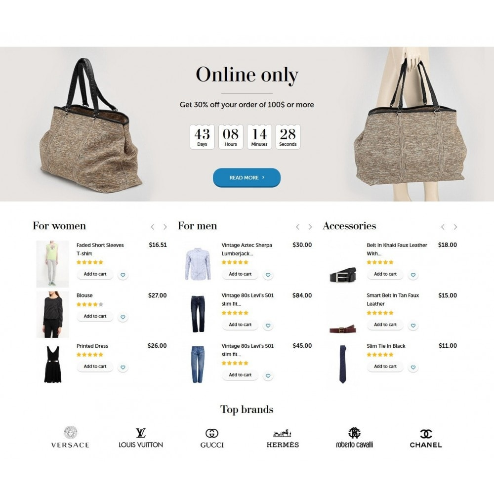 theme - Fashion & Shoes - Wearshop 1.6 Responsive - 3