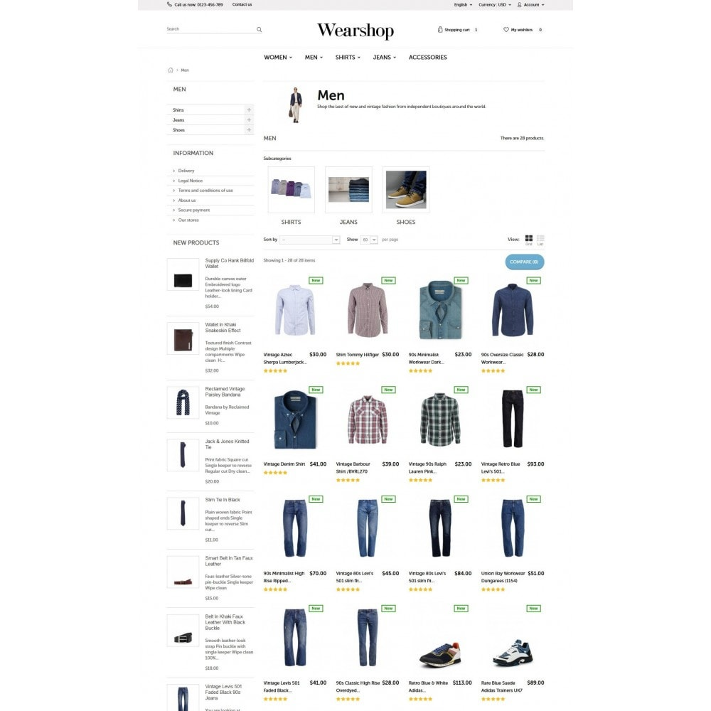 theme - Fashion & Shoes - Wearshop 1.6 Responsive - 5