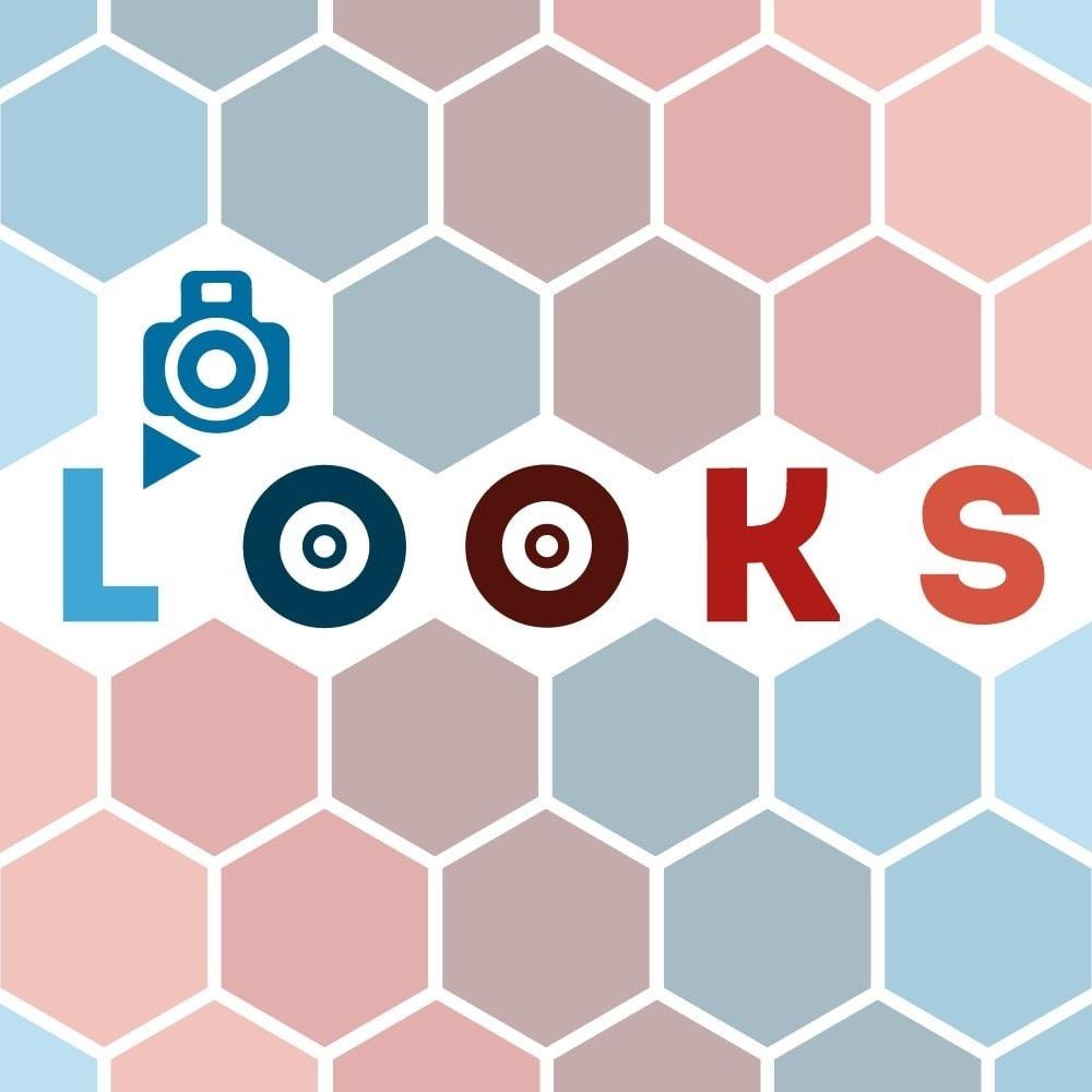 module - Personalizzazione pagine - Looks - 1