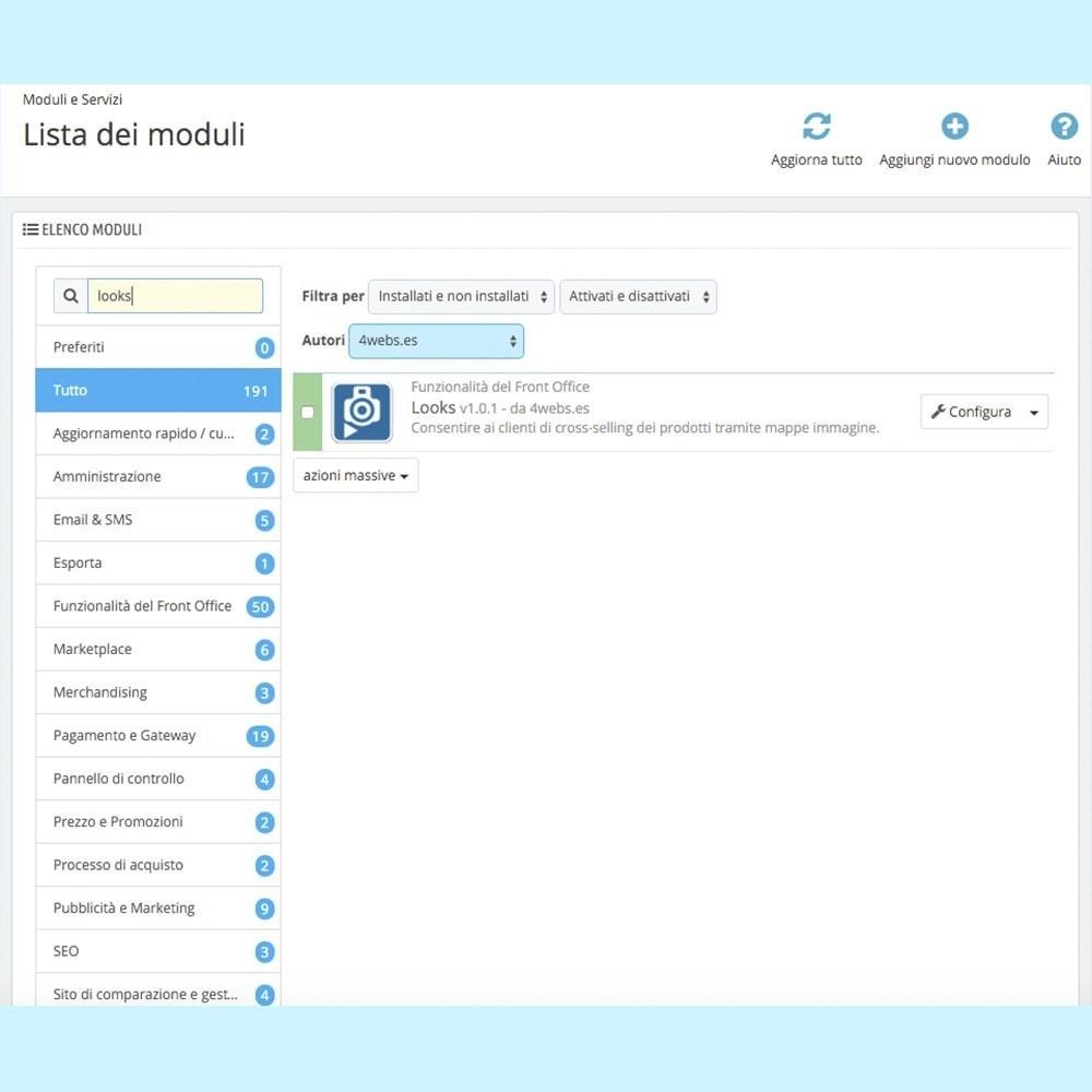 module - Personalizzazione pagine - Looks - 5