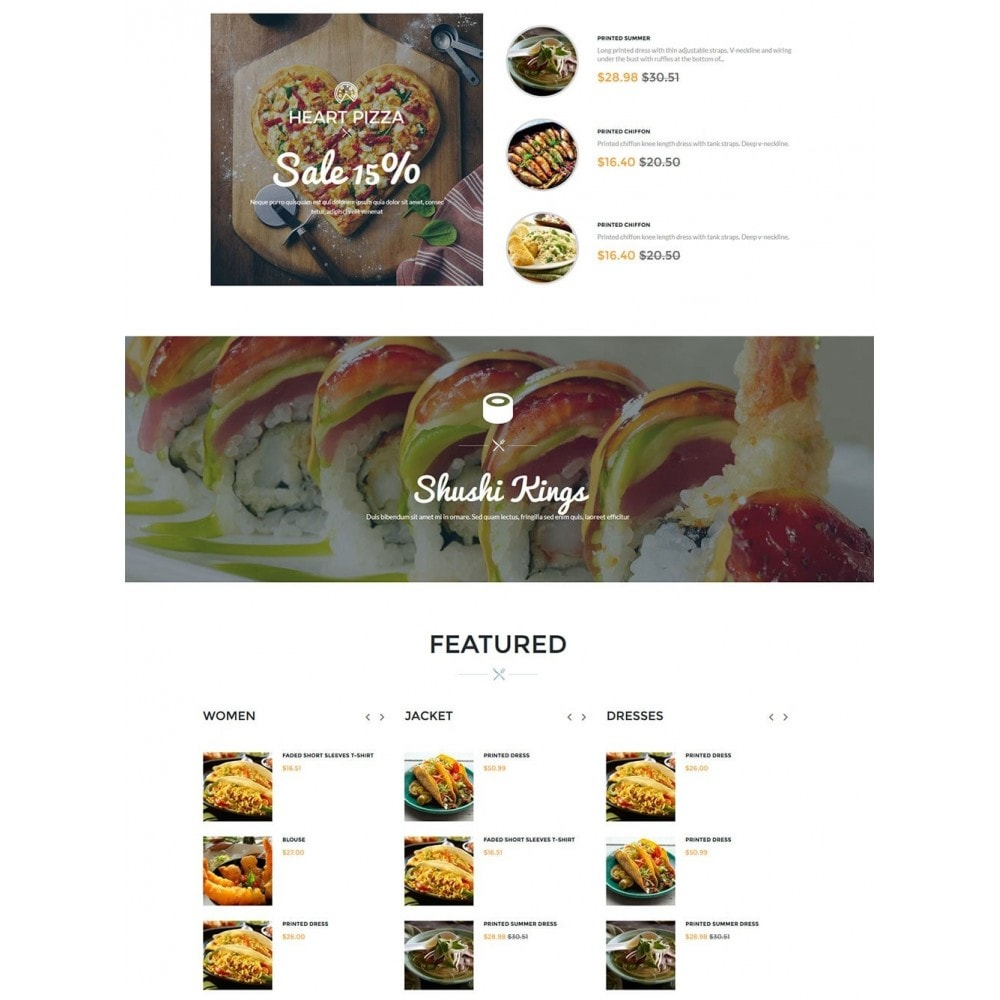 theme - Lebensmittel & Restaurants - Water Delicieux Food Store - 4