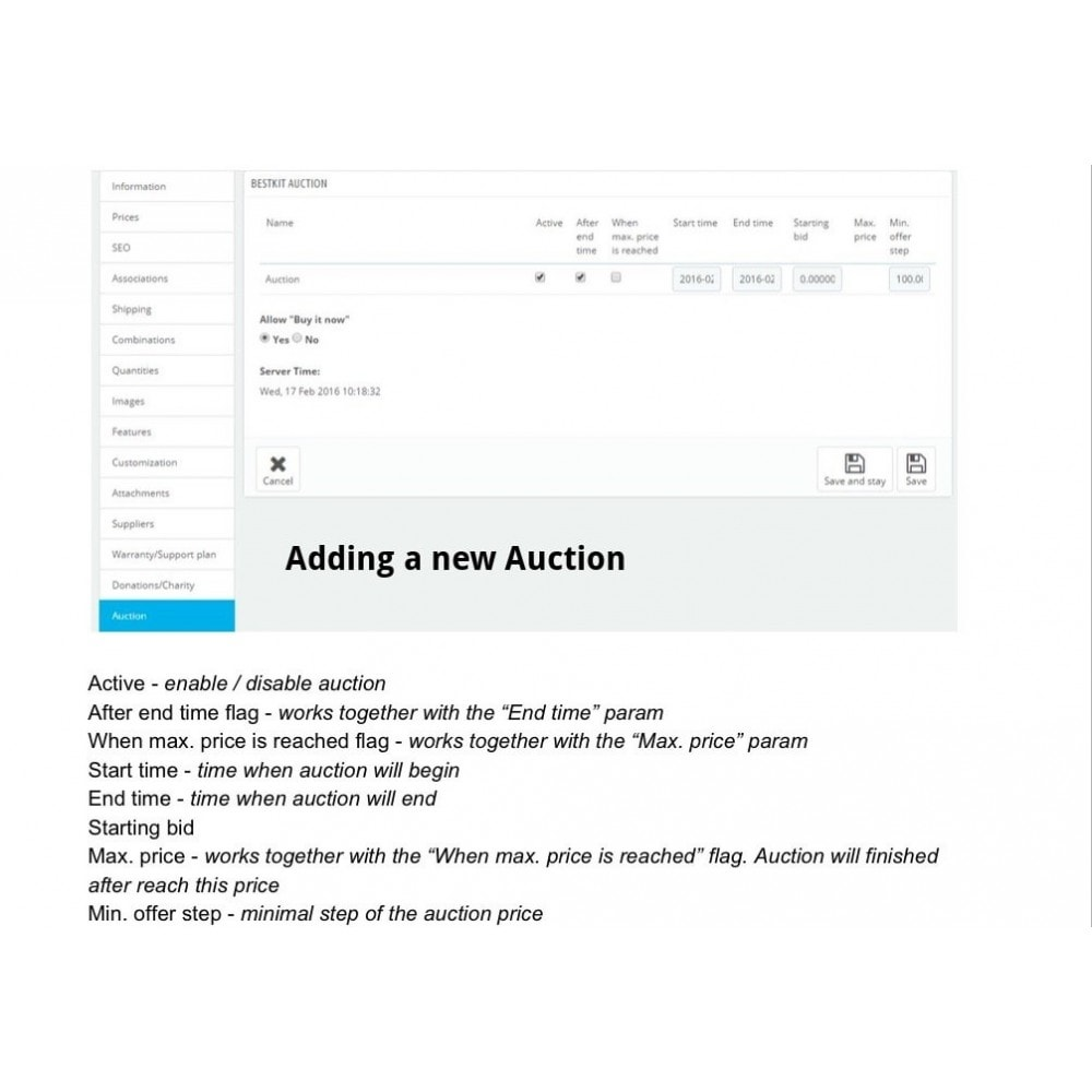 module - Auction Site - Auction Pro - 17