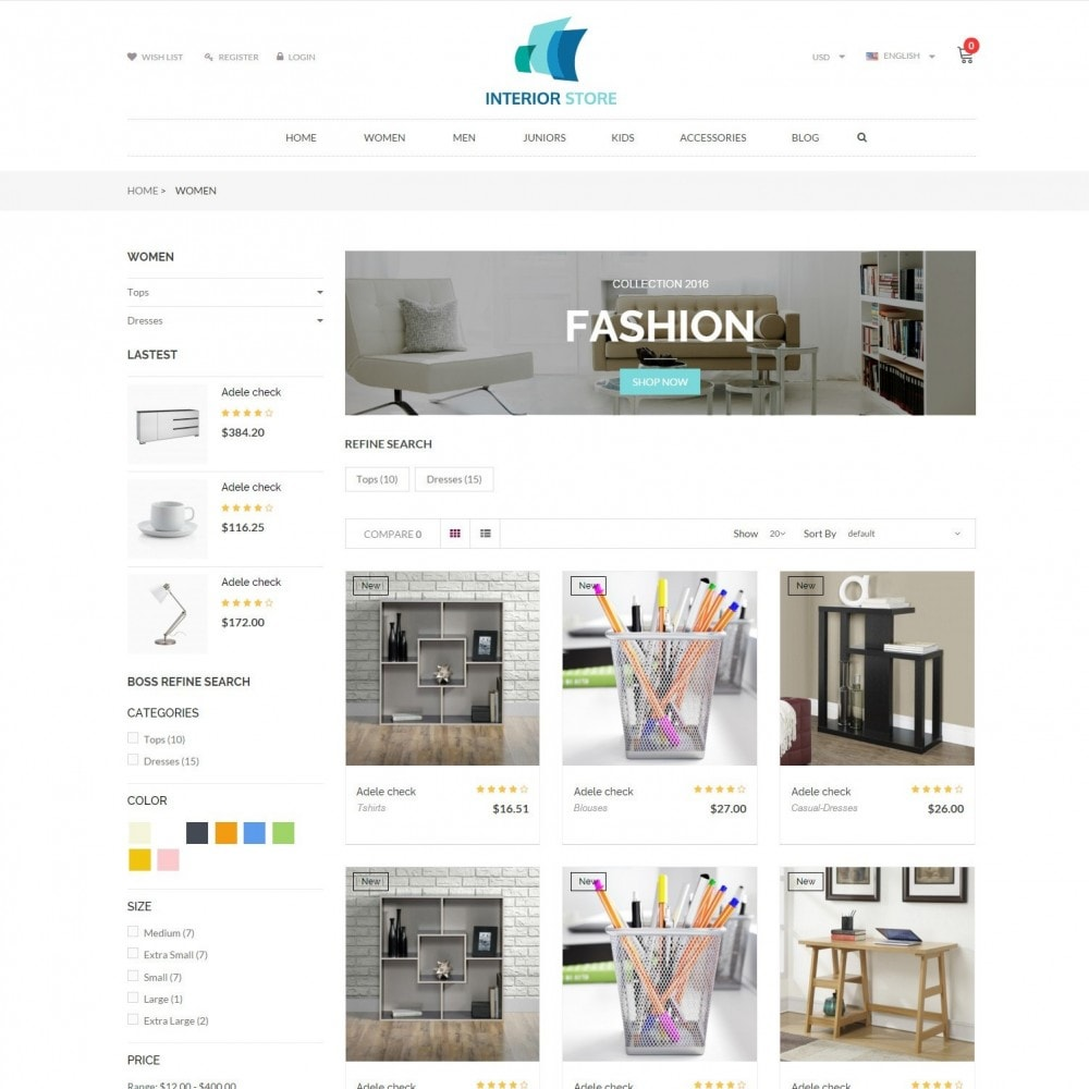 theme - Home & Garden - Home & Furniture - Interior Responsive Store - 3