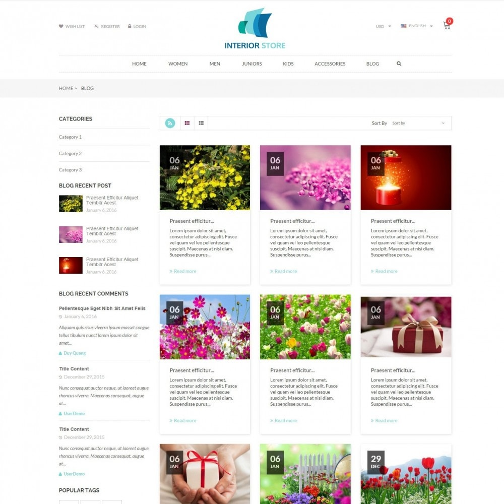 theme - Home & Garden - Home & Furniture - Interior Responsive Store - 6