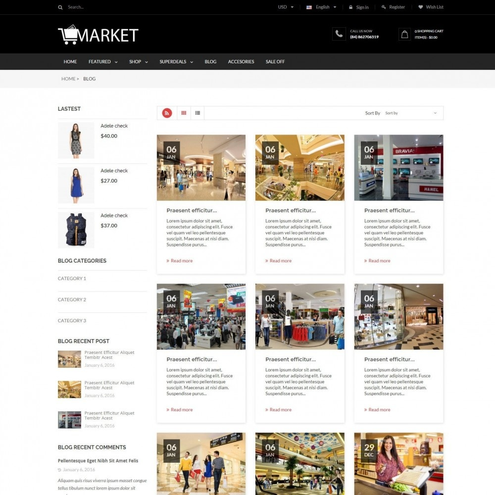 theme - Elektronik & High Tech - Fashion, Hightech & Baby - Market Responsvie Store - 6