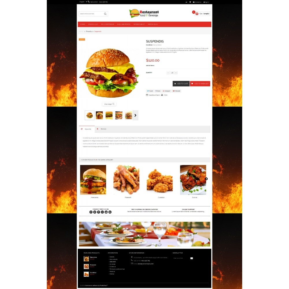 theme - Food & Restaurant - Pizza & Restaurant - 6