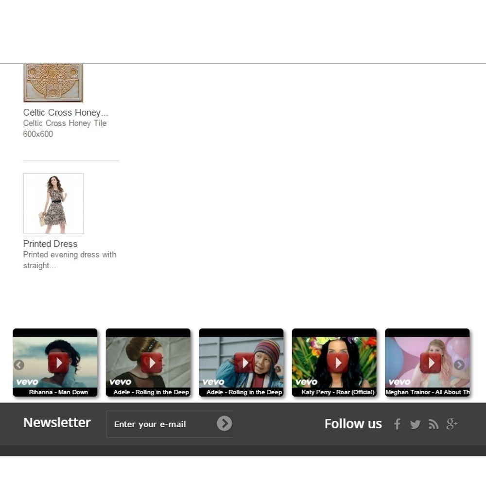 module - Vidéo & Musique - Youtube Video Slider and Gallery with Lightbox - 1