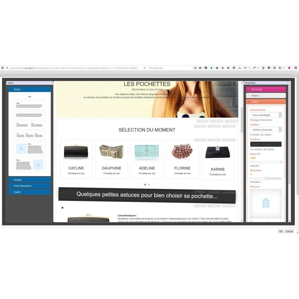 module - Individuelle Seitengestaltung - Responsive Page Web Editor - 5