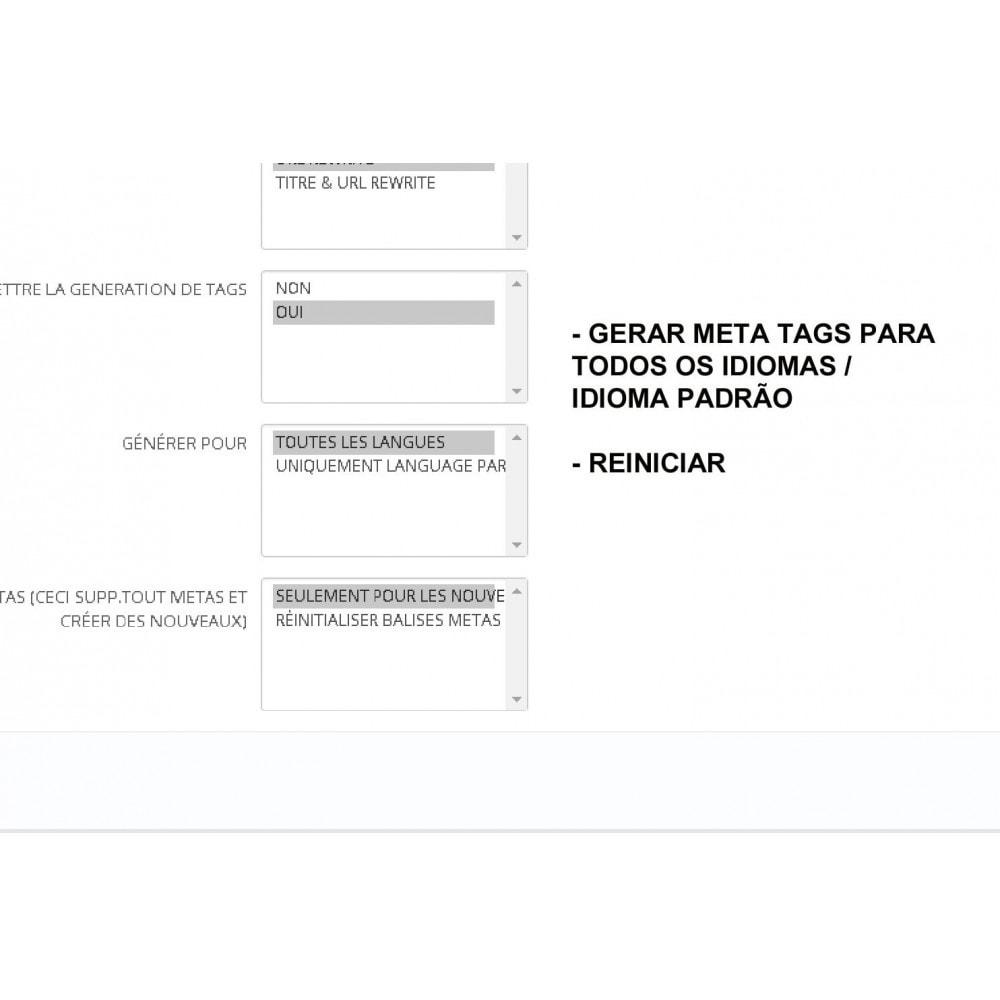module - SEO (Referenciamento natural) - METAS TAGS AUTO GENERATOR (PRO) - 3