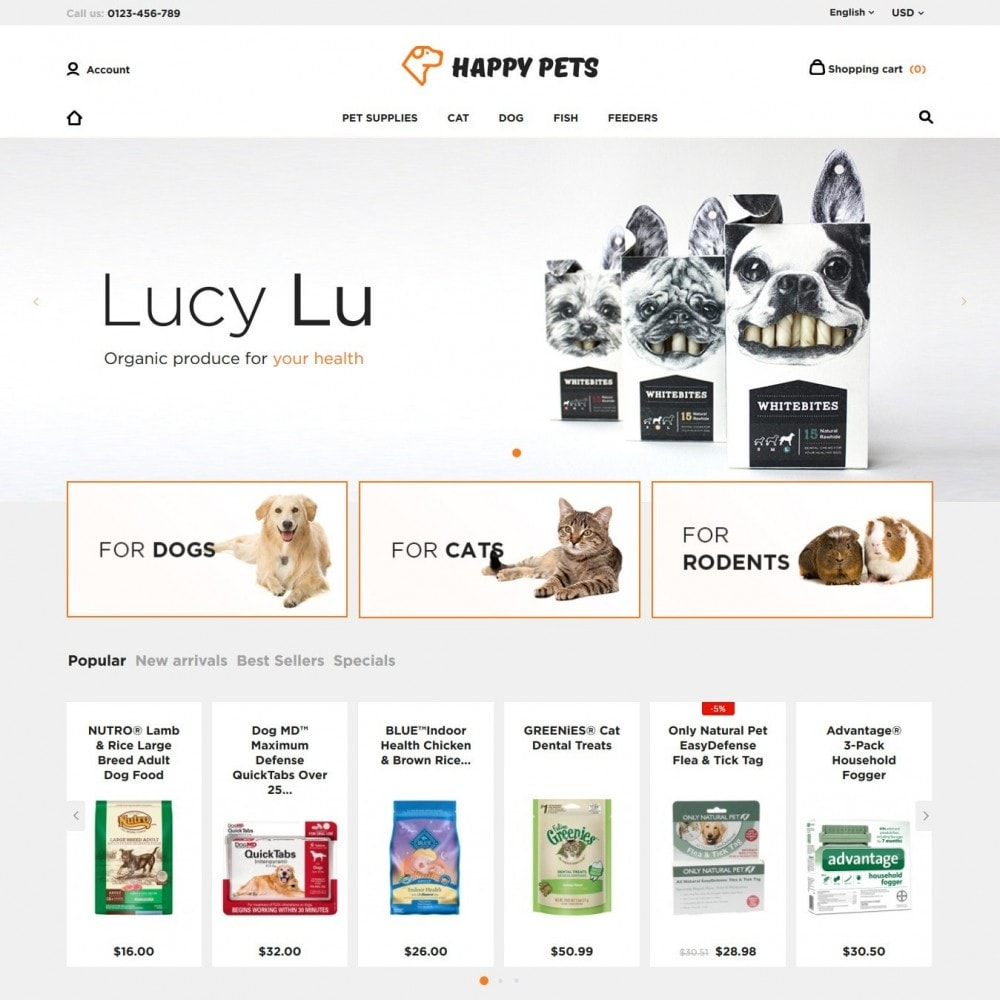 theme - Animaux - Happy Pets - 2