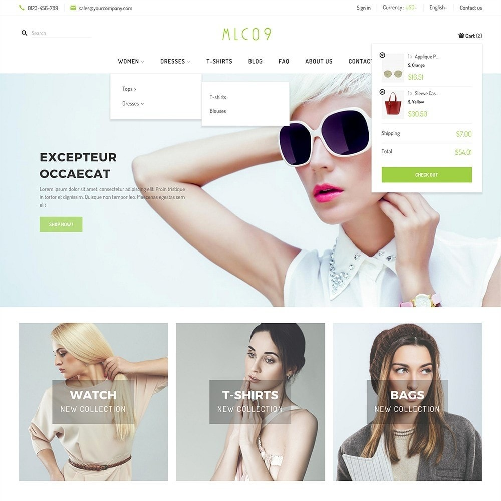 theme - Mode & Schoenen - mlc09 - A New Fashion e-Commerce - 3