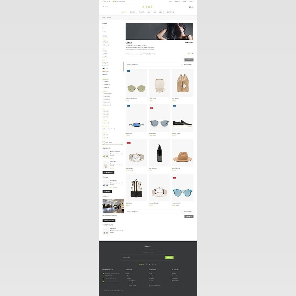 theme - Moda & Obuwie - mlc09 - A New Fashion e-Commerce - 8