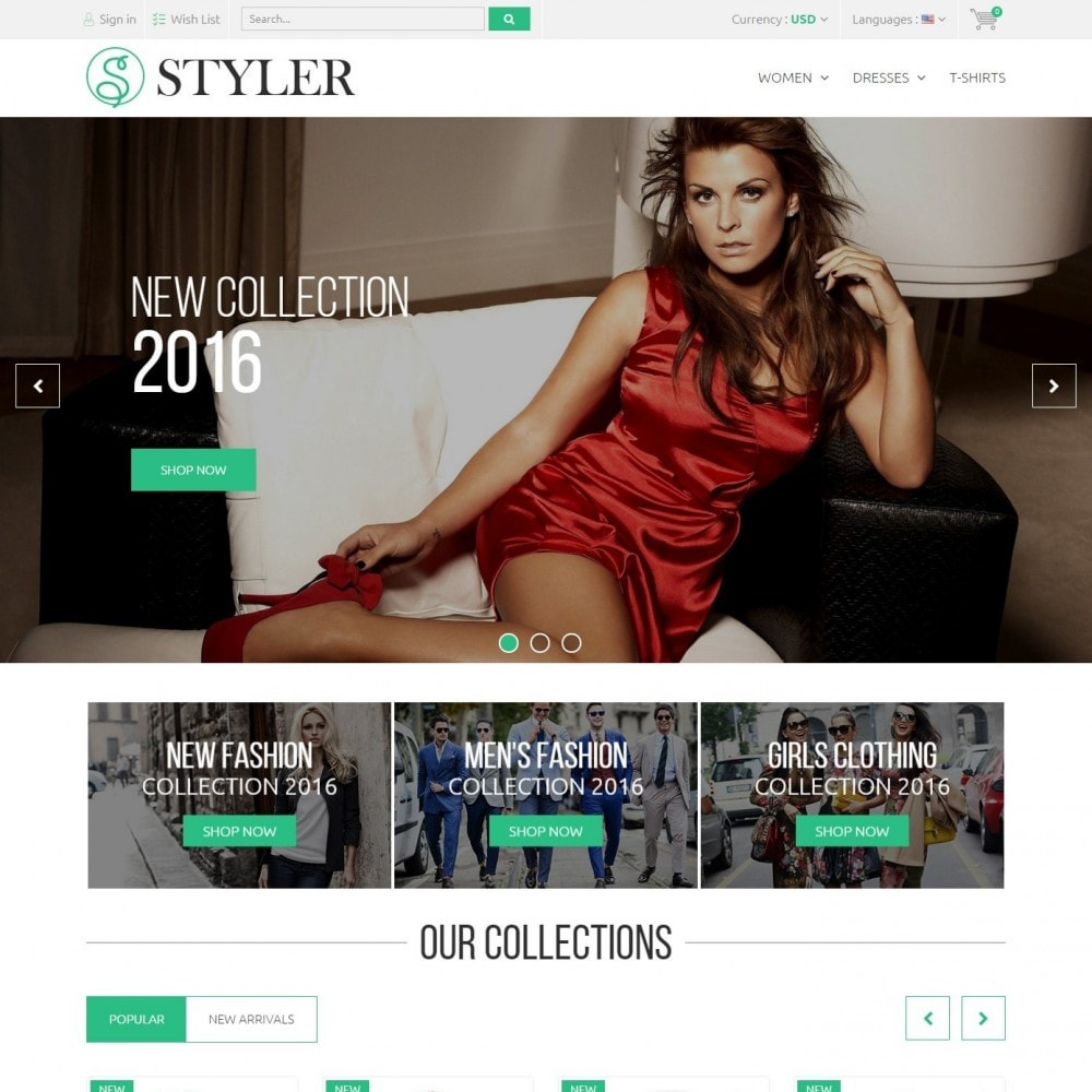 theme - Fashion & Shoes - Styler Shop - Сlothes Store - 2
